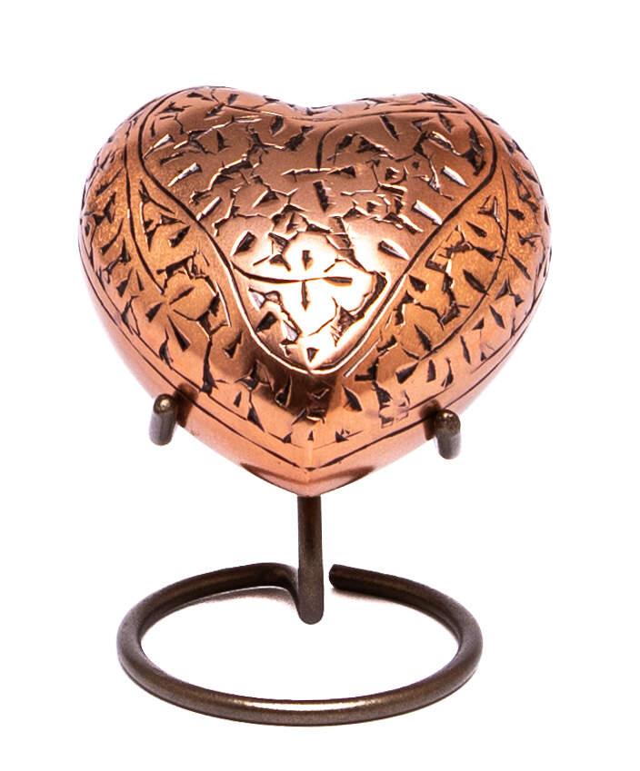 Copper Heart Keepsake